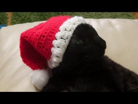Weihnachtsmann Nikolaus Mütze Häkeln Lernen Youtube