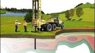 видео инженерно геологические изыскания