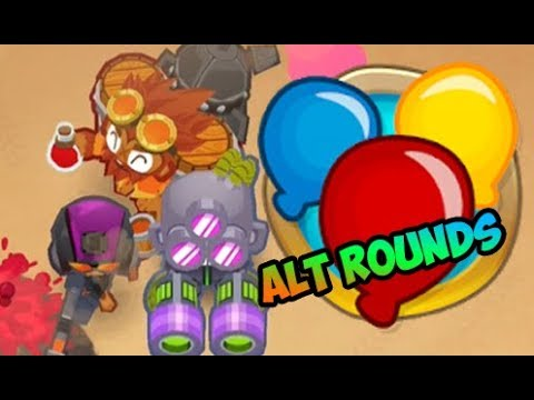 Bloons TD 6 - End of The Road - Alternate Rounds
