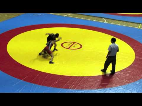 2012 Cadet Pan-American Championships: 46 kg Venezuela vs. Amy Hou (USA)