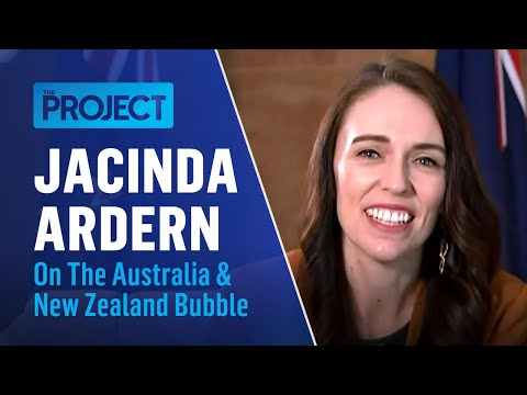 Jacinda Ardern Chats With Carrie Bickmore About The Australia/NZ Travel Bubble