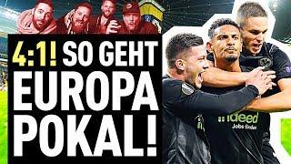 Darum war Eintracht Frankfurt für Donezk zu stark! | FUSSBALL 2000 - der Eintracht-Videopodcast