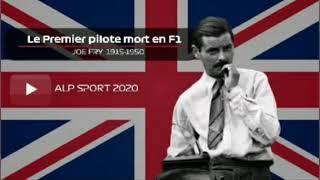 Le 1er pilote de F1 décédé en piste
