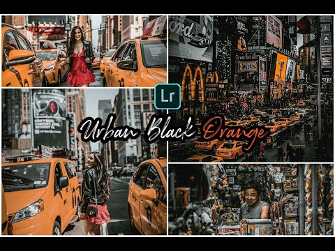 Lightroom Tutorial | Urban Orange | Edit Foto Ala Selebgram