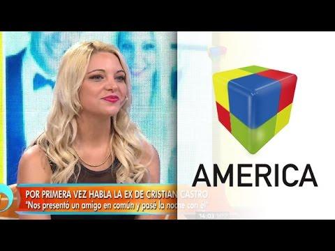 Karina Barboza reveló gustos sexuales de Cristian Castro
