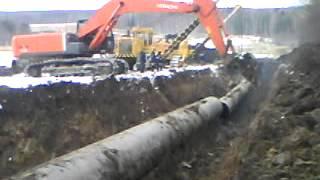 Сварка технологического отверстия под газом на газопроводе & Резка трубы газопровода.(Это видео создано с помощью видеоредактора YouTube (http://www.youtube.com/editor), 2014-03-03T16:24:34.000Z)