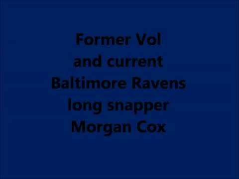 Baltimore Ravens Long Snapper Morgan Cox
