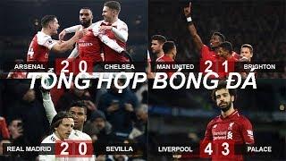 Tin bóng đá 20/01|KQ Vòng 23 NHA MU lập kỷ lục trận thắng, Arsenal hạ Chelsea,cuộc đua Top 4 hấp dẫn