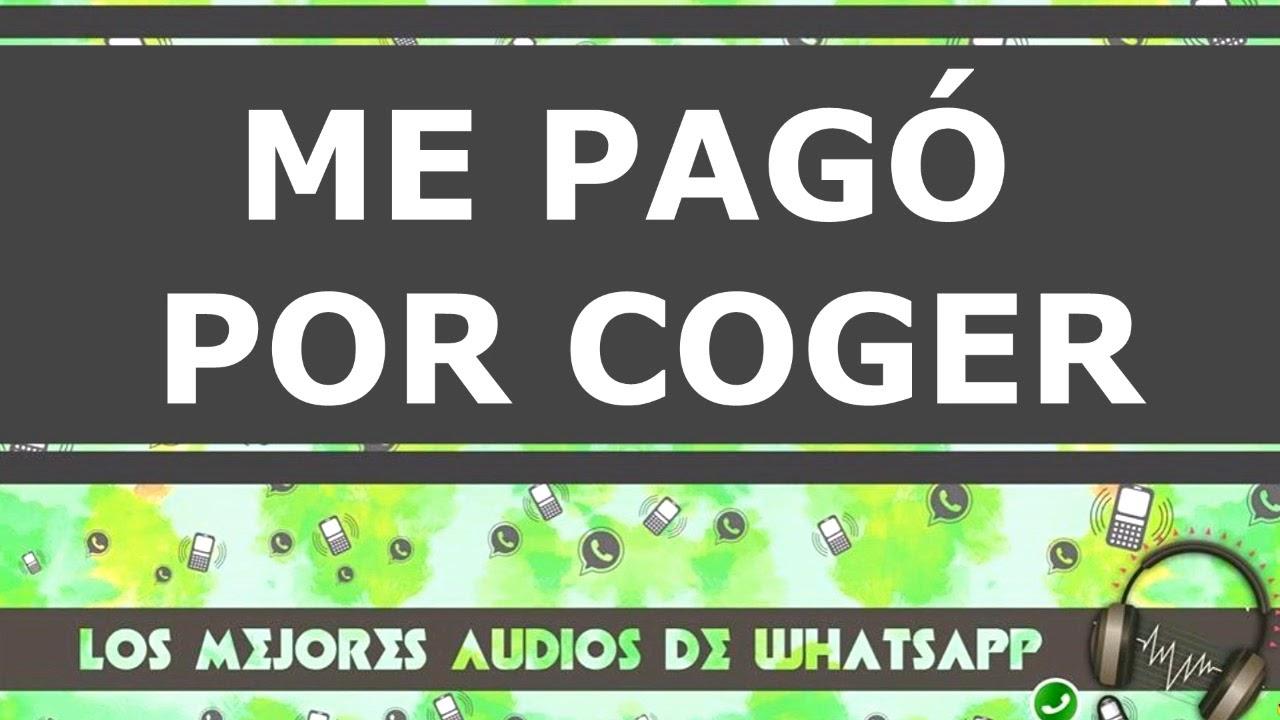 ME PAGO POR COGER- Los mejores audios de whatsapp