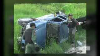 Roadside bomb explosion injures soldiers in Thailand