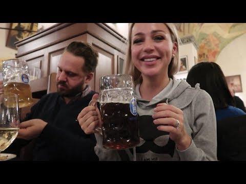 Самый известный ПИВНОЙ РЕСТОРАН в Мюнхене! 3000 человек пьют пиво)))) ХОФБРОЙХАУС.