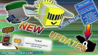 *NEW UPDATE* !!!! 60MILLION HONEY WORTH ITEMS ?!?! *NEW* TICKETS - Roblox Bee swarm simulator