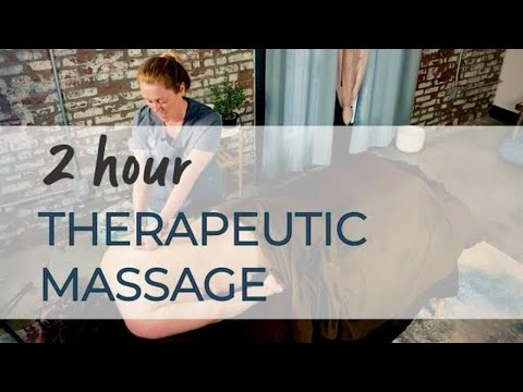 How to massage - 2 Hour Full Body CBD massage at Salvation Wellness