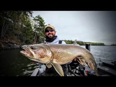 Ice-Out Lake Trout — Angling Edge TV