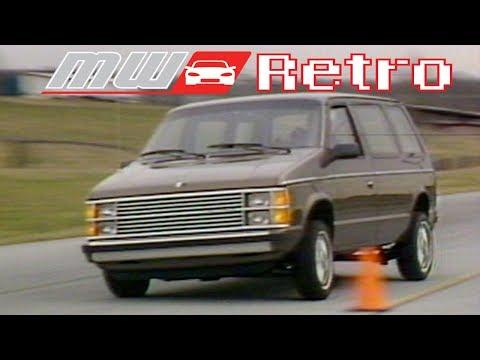 1984 Plymouth Voyager / Dodge Caravan   Retro Review