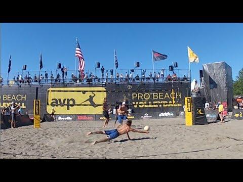 AVP Seattle Open: Gibb/Crabb vs Priddy/Ratledge