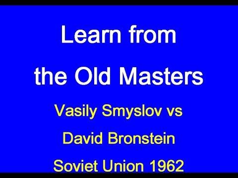 Vasily Smyslov vs David Bronstein: Soviet Union 1962