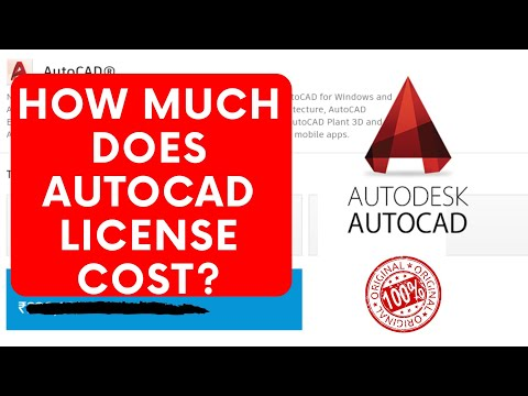How Much Does AutoCAD Cost All Over The World??