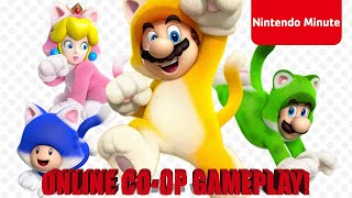Super Mario 3D World + Bowser's Fury 4-Player Online Co-op w/ Special Guests
