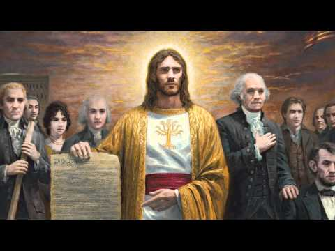 "Symbolism of Jesus Christ in ""One Nation Under God"" - Jon McNaughton"