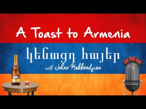 Armenia Proud  Ep 17  Actor Hrach Titizian & Author Roger Kupelian