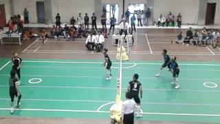 semifinal sepaktakraw  gorontalo vs palu pionir