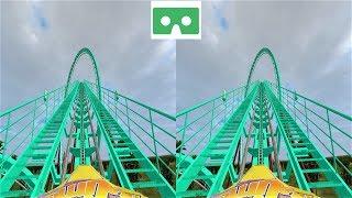 VR 3D video Roller Coaster 25 Американские Горки для VR очков 3D SBS VR box