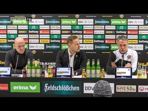 21. Spieltag | SGD - BOC | Pressekonferenz nach dem Spiel
