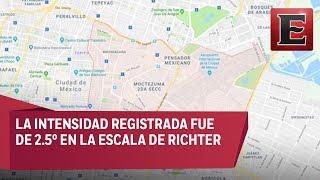 ÚLTIMA HORA: Reportan sismo en Venustiano Carranza