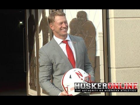 HOL HD: New Nebraska Head Coach Scott Frost talking Huskers