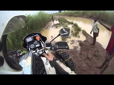 BMW R 1200 GS Adventure - OffRoad in Africa part 1