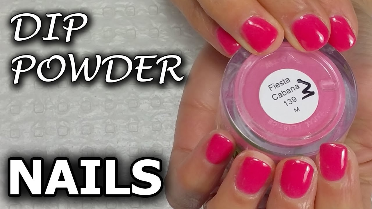 Dip Powder Nails Sns Nails Dipping Powder Regal Nails Salon Youtube