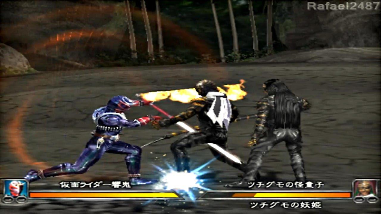 Kamen Rider Hibiki Ps2 Story Mode Part 1 Hd Youtube