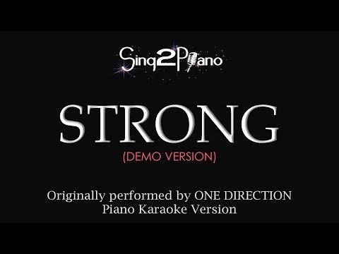 Strong (Piano Karaoke Version) One Direction
