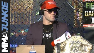 Colby Covington in-studio with MMAjunkie Radio's George and Goze during UFC 235 fight week