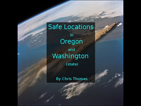 Pacific Northwest safe locations, Nuclear Power Stations and Volcanoes