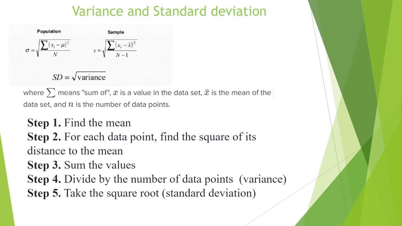 Measures Of Variability With R Programming Language (range, Variance, Standard  Deviation) How