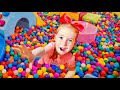 Nastya found a boy doll and pretends to be a parent - Trailer