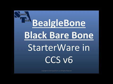 #BBB - Getting Started with StarterWare, CCSv6, JTAG on BeagleBone Black