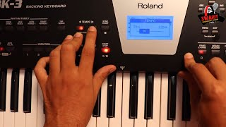 Download Roland BK-3 Backing Keyboard USB Pan Drive,VoiceRemove & Karaoke Player Demonstrated by Brij Pathak