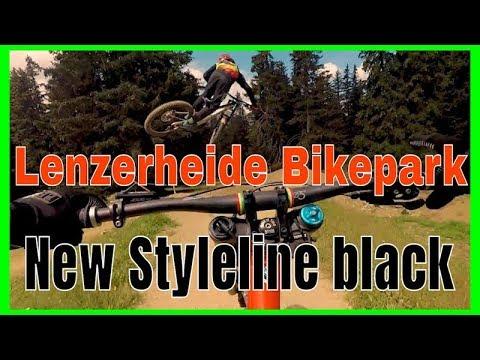 Lenzerheide Bikepark 2018 Styleline Black / Schwarz , New #blackshore 2018 #Freeflow Crew