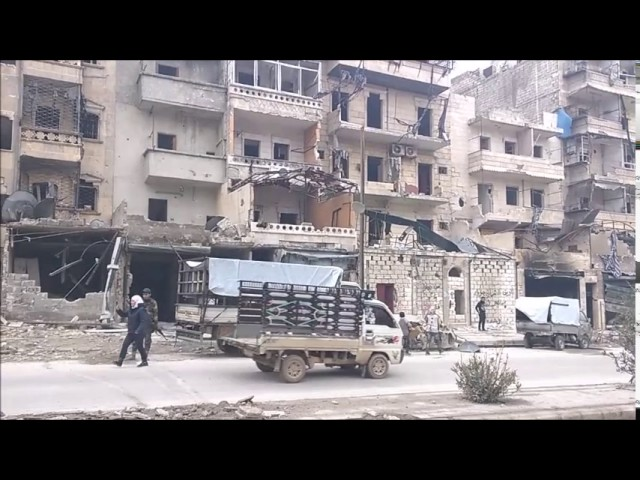 EAST ALEPPO: INSIDE AL QUDS HOSPITAL, IED EXPLOSION IN SUKARE