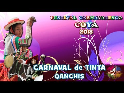 CARNAVAL DE TINTA Qanchis COYA 2018