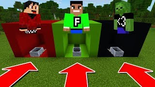 DO NOT CHOOSE THE WRONG MINECART IN Minecraft PE (RageElixir, FuzionDroid, & AA12)