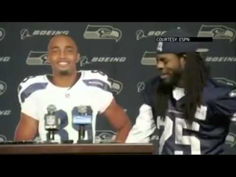Richard Sherman Gives the Best Interview in the History of the NFL!!!