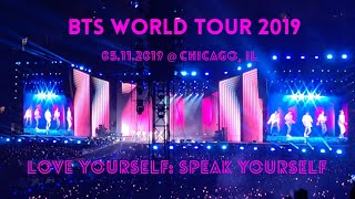 BTS 방탄소년단 Love Yourself Tour in Chicago [2019] FULL CONCERT