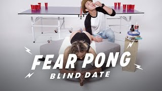 Blind Dates Play Fear Pong (Estefany vs. Sam) | Fear Pong | Cut thumbnail