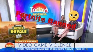 Reporter thinks that Fortnite should be banned in Australia here's why