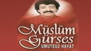 Muslum Gurses -  Umutsuz Hayat Şiirli Resimi