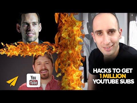 How to GET 1 MILLION YouTube Subscribers - Evan vs. Tom Bilyeu vs. Tim Schmoyer